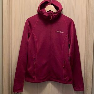 Eddie Bauer Hooded Fleece Sweatshirt - M